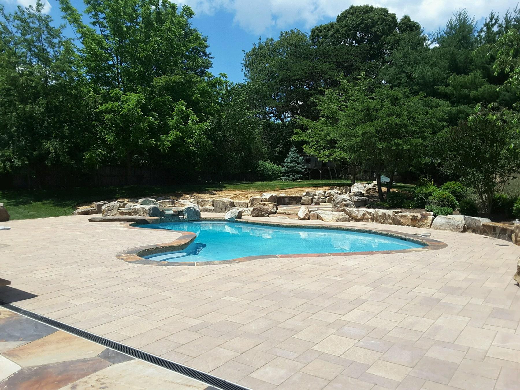 Swim Oasis, Pool design in Maryland